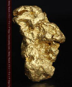 2.53gのペンギンのような形の自然金-g0281-1