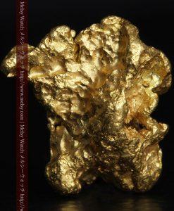 2.83gの綺麗な色合いと厚みのある自然金-g0282-2