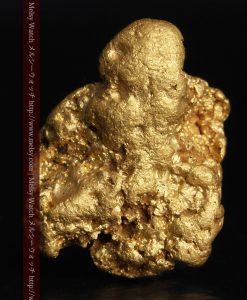 2.89gのコロコロとした詰まりの良い自然金-g0283-2
