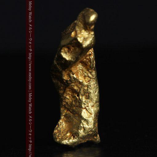 4.39gの三つ又の特殊な形の自然金-g0285-3