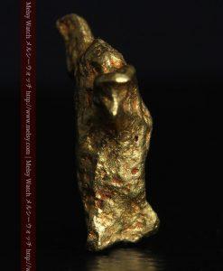 4.39gの三つ又の特殊な形の自然金-g0285-4