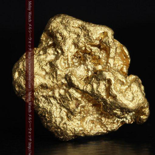 4.2gの丸みのある大粒の自然金-g0288-1