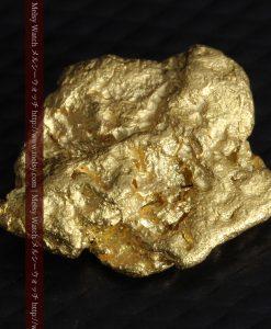 4.2gの丸みのある大粒の自然金-g0288-6