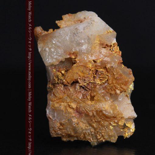 1.6gの透明感ある石英が綺麗な自然金-g0290-3