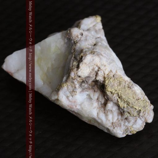 4.31gの少し薄めの色の金が入った自然金-g0291-6