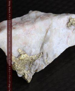 4.31gの少し薄めの色の金が入った自然金-g0291-9