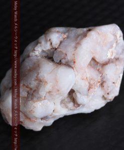 5.93gの丸みのある石英に包まれる金が見える自然金-g0292-7