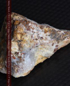 8.11gの三角錐状に先端の尖った金鉱石-g0293-11