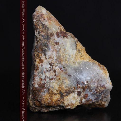 8.11gの三角錐状に先端の尖った金鉱石-g0293-2