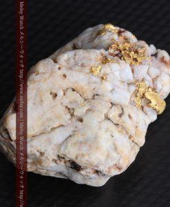 15.65gの大粒の金が見える大きなサイズの金鉱石-g0294-10