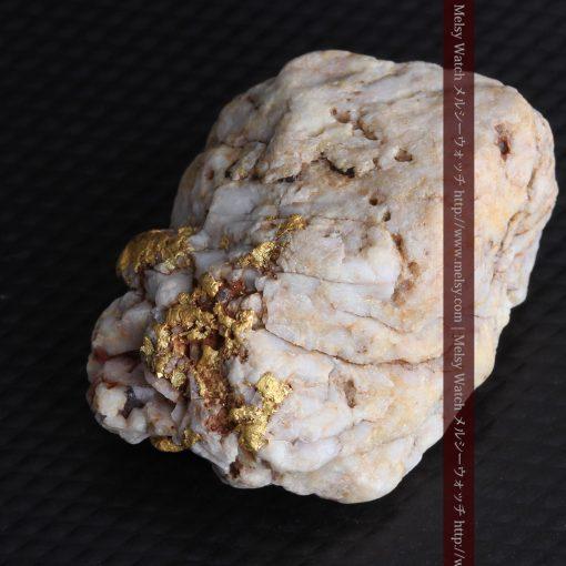15.65gの大粒の金が見える大きなサイズの金鉱石-g0294-12