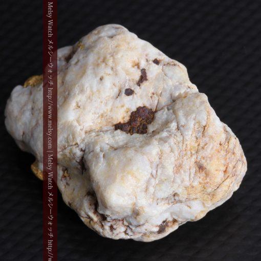 15.65gの大粒の金が見える大きなサイズの金鉱石-g0294-16