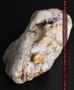 15.65gの大粒の金が見える大きなサイズの金鉱石-g0294-18