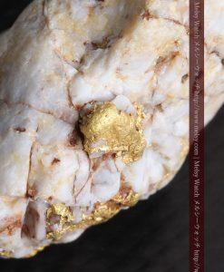 15.65gの大粒の金が見える大きなサイズの金鉱石-g0294-3