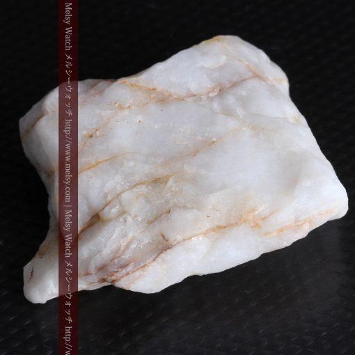16.91gの大きな石英の中央に鎮座する自然金-g0298-15