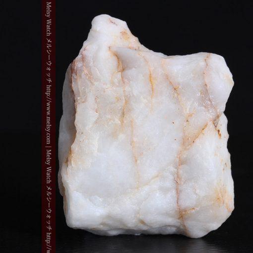 16.91gの大きな石英の中央に鎮座する自然金-g0298-5