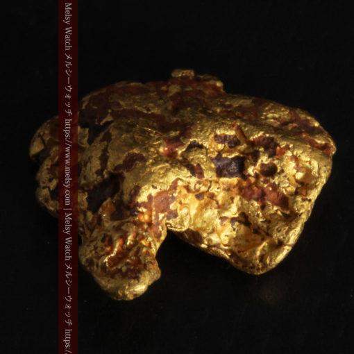 4.46gの自然な形と両面の違いを楽しめる自然金-G0300-10