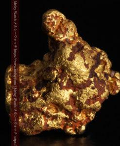 4.46gの自然な形と両面の違いを楽しめる自然金-G0300-2