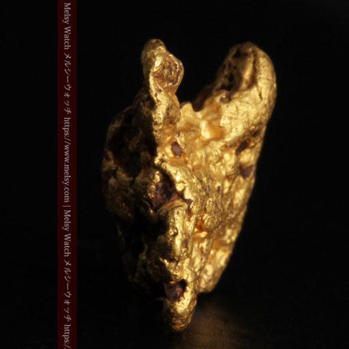4.46gの自然な形と両面の違いを楽しめる自然金-G0300-3
