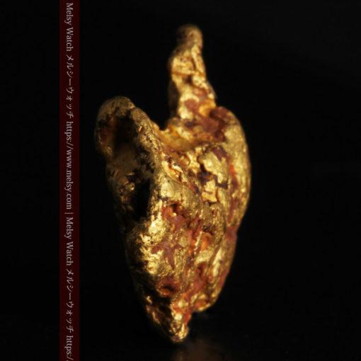 4.46gの自然な形と両面の違いを楽しめる自然金-G0300-4