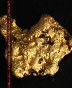 4.46gの自然な形と両面の違いを楽しめる自然金-G0300-5