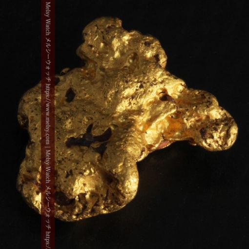 4.46gの自然な形と両面の違いを楽しめる自然金-G0300-7