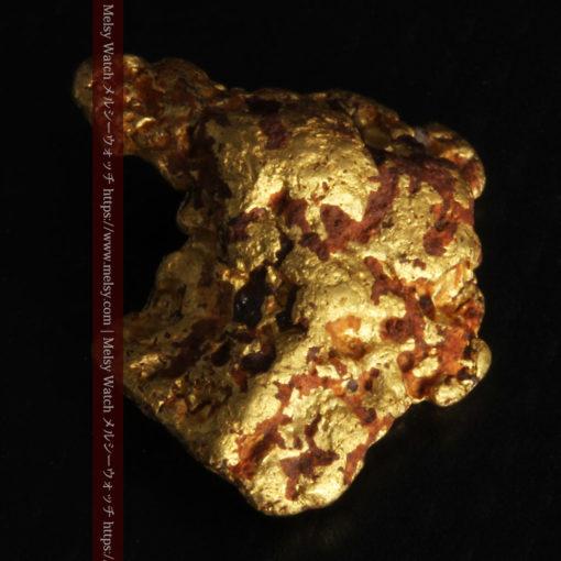 4.46gの自然な形と両面の違いを楽しめる自然金-G0300-9