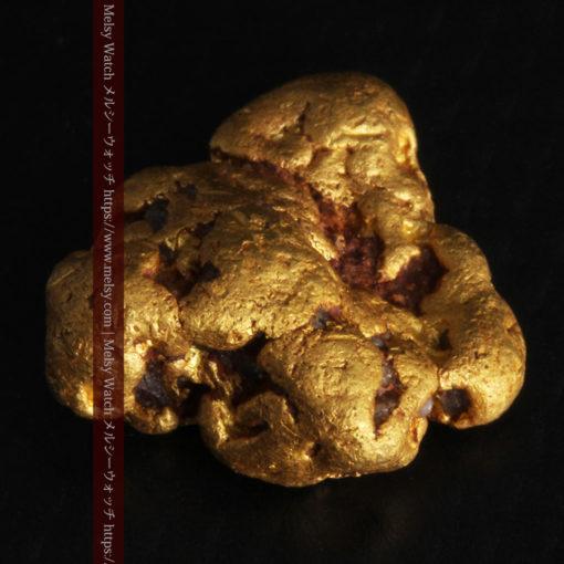 4.6gの角のない丸みを帯びた自然金-G0301-10