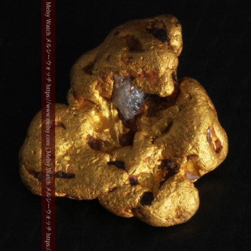 4.6gの角のない丸みを帯びた自然金-G0301-5