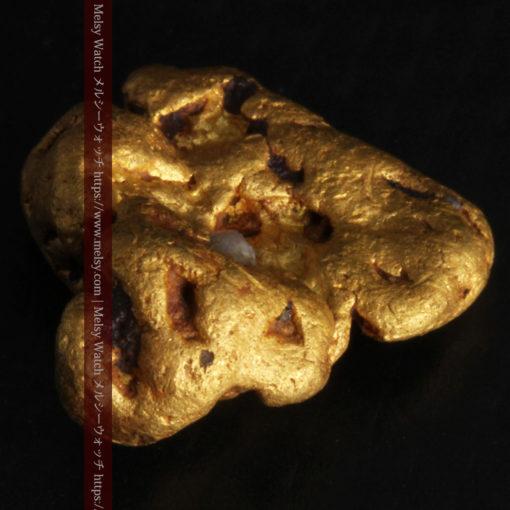 4.6gの角のない丸みを帯びた自然金-G0301-7