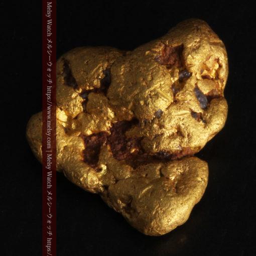 4.6gの角のない丸みを帯びた自然金-G0301-8