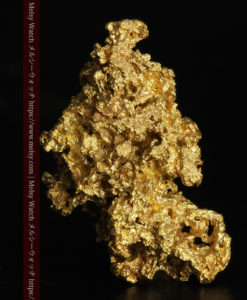 5.48gの神秘的な輝きを見せる繊細な姿の自然金-G0303-1