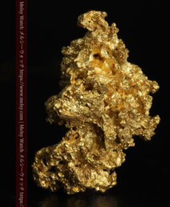 5.48gの神秘的な輝きを見せる繊細な姿の自然金-G0303-2
