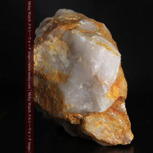 72gの巨大な石英に存在する自然なままの姿の自然金-G0308-7