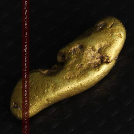 2.09gの細長い豆のような形の自然金-G0310-10