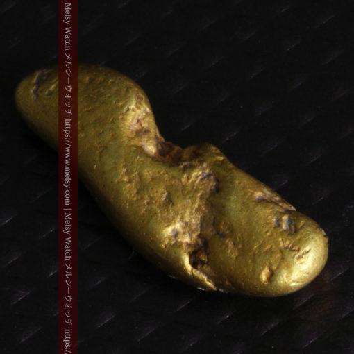 2.09gの細長い豆のような形の自然金-G0310-11