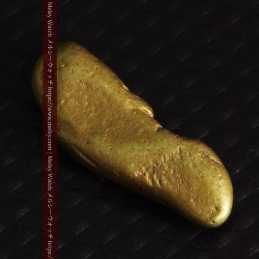 2.09gの細長い豆のような形の自然金-G0310-5