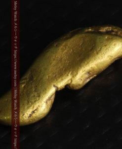 2.09gの細長い豆のような形の自然金-G0310-6