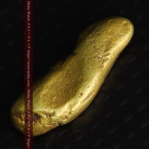2.09gの細長い豆のような形の自然金-G0310-7