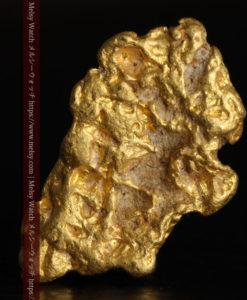 1.97gの両面の雰囲気の違いを楽しめる自然金-G0314-1