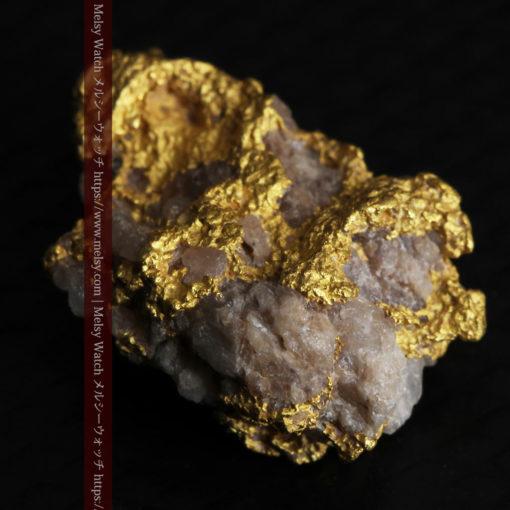 4.12gの小さな石英が混じる雰囲気の良い自然金-G0320-6