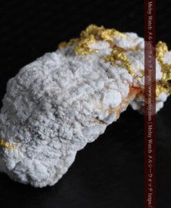 4.28gの細やかな淡雪のような石英と自然金-G0326-10