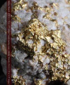 25.75gの石英から染み出るように光る自然金-G0328-1
