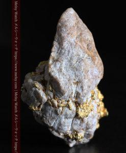 25.75gの石英から染み出るように光る自然金-G0328-8