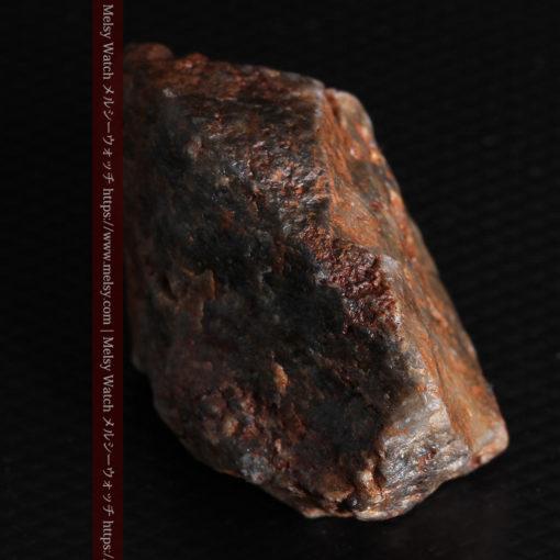 22.0gの黒褐色の石英と自然金-G0330-13