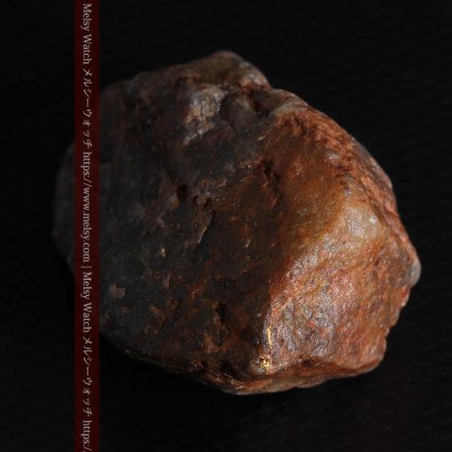 22.0gの黒褐色の石英と自然金-G0330-14