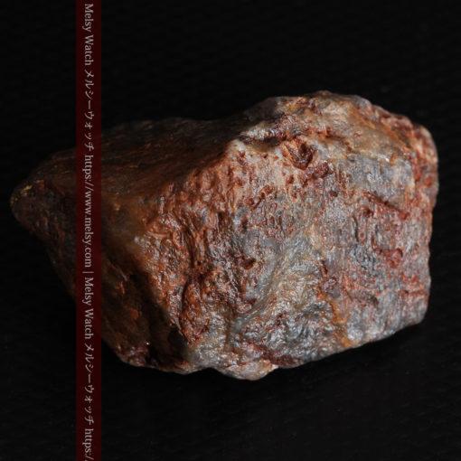 22.0gの黒褐色の石英と自然金-G0330-15