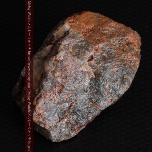 22.0gの黒褐色の石英と自然金-G0330-17