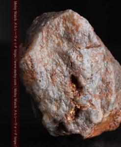 22.0gの黒褐色の石英と自然金-G0330-6