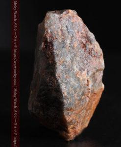 22.0gの黒褐色の石英と自然金-G0330-9